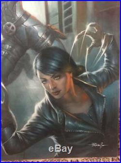 Lucio Parrillo Weapons of Mutant Destruction #1 Cover 50x70 Original Art