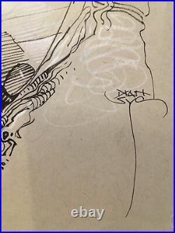 Mark Nelson Aliens Original Art Dark Horse Comics Commission Signed Ripley Eggs