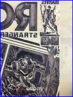Marvel ROM 60 Jackson Guice Tom Palmer Original Cover Comic Art Printing Plate