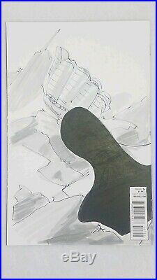 Marvel Variant Edition X-men #7 Sketch Cover Rogue By Matt Haley Original Art