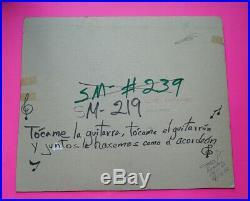 Mexican original comic cover art SENSACIONAL DE MAESTROS #219 PinUp June 1993