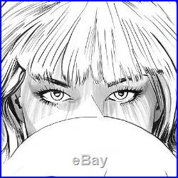 Mike Mayhew Original JEAN GREY #8 Venticular Cover B&W Art One of a Kind