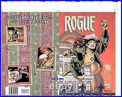 Mike Wieringo Rogue Original Cover Proof Production Art Gambit X-men Marvel