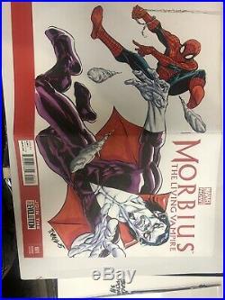 Morbius (2013) # 1 Original Art Comic Book Cover By Tim Vigil (Faust)