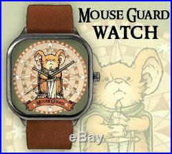 Mouse Guard Watch Original Art OA Lieam David Petersen Cover Page Movie Soon