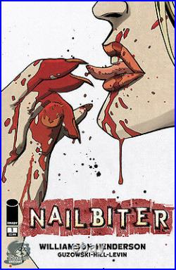 Nailbiter 1 Phantom Variant Original Comic Book Art Cover by Mike Henderson HOT