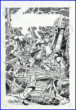 Neal Adams Original art Heman Comic Book Cover