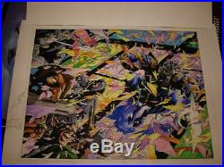 Ninjak #1 Original Cover Art (1994) & Ninjak Omnibus Cover Art