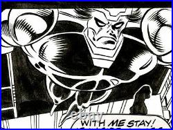 Nova 16 Original Art Comic page by Wolverine Wonder Woman Spider-Man Marrinan