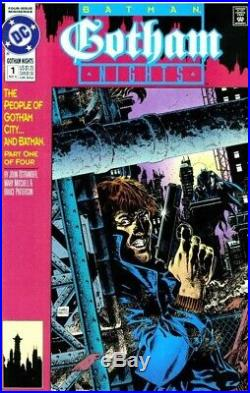 ORIGINAL ART EDUARDO BARRETO GOTHAM NIGHTS (COVER # 1. March 1992)