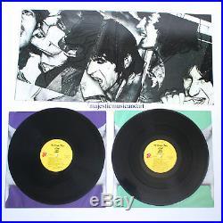 Original Andy Warhol Art Cover Vinyl The Rolling Stones Lp Record Set Rare