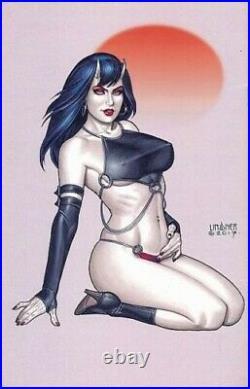 Original Art! JOSEPH MICHAEL LINSNER Sinful Suzi Sketchbook COVER