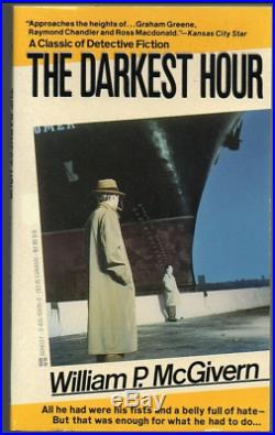 Original Book Cover Illustration William P. McGivern The Darkest Hour