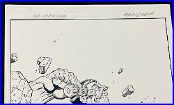 Original Comic Art Cover Savage Hulk #003 2014 Variant/ Jim Starlin Terry Austin