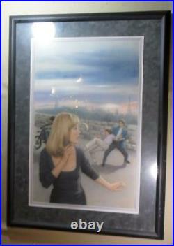 Original Cover Painting Nancy Drew Hardy Boys Paris Connection James Mathewuse
