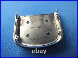Original Nokia 8800 Carbon Arte Keypad Tastatur-Cover Gehäuse Carbon Grey