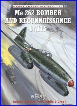 Original Postlethwaite Ww2 Aviation Illustration Cover Art Painting Me-262 Wwii