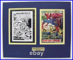 Original Production Art Cover X-MEN #83, art by DAN ATKINS, matted withcomic book