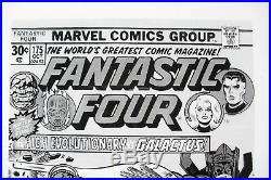 Original Production Art FANTASTIC FOUR #175 cover, JACK KIRBY art, Galactus