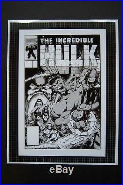 Original Production Art INCREDIBLE HULK #381 cover, DALE KEOWN art
