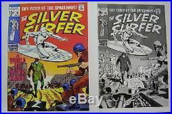 Original Production Art SILVER SURFER #10 cover, JOHN BUSCEMA art