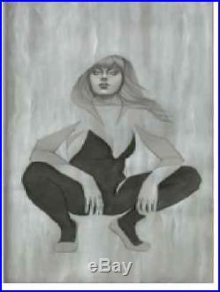 Original Spider-gwen #1 Exclusive Comic Pop Jenny Frison Cover Art