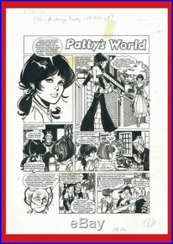 Patty´s World Original Art European. Published! Page 1 By Purita Campos