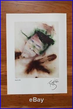 RARE! Original David Bowie Outside Album Cover Art Print Promotional Only 1995