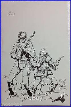 RARE! Original LONE RANGER Cover Art TIMOTHY TRUMAN & THOMAS YEATES