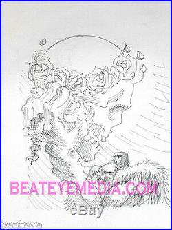 RICK GRIFFIN ORIGINAL ART-GRATEFUL DEAD-COMIC ART-UNDERGROUND COMIC-robert crumb