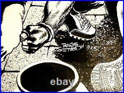 Rags Morales Original Art Geomancer #3 cover Great Egyptian scene Very Fine