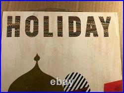Rare Original Holiday Magazine Cover Art Design Famous Rudolph de Harak 60s
