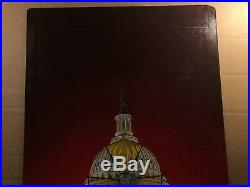 Rare Original Pulp Illustration Art Painting Paperback Cover Airburst 1987