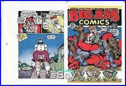 Robert Crumb Artwork Big Ass Comics #2 Original Comic Cover Proof Production Art