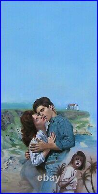 Romance Paperback Original Cover Art Painting Daniel Crouse Rebecca Flanders