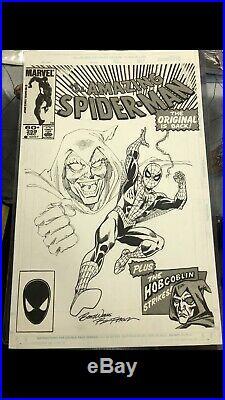 Ron Frenz Spider-man Cover Commission Original Art Hobgoblin