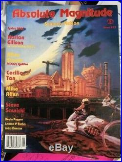 Run Mutant, Hide Jim Bellofatto Jr Original illustration art magazine cover