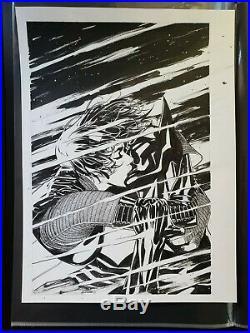Ryan SOOK original art FUTURE'S END 35 Cover Batman Beyond DC Comics New 52