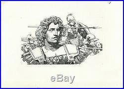 SERGIO TOPPI Da Pericle Ad Alessandro Magno ORIGINAL COVER ART