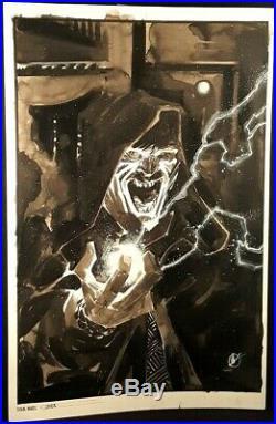 STAR WARS DARTH VADER #1 Original Published Art Cover by Matteo Scalera LUKE REY