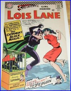 SUPERMAN'S GIRLFRIEND LOIS LANE #70 Original artwork Adler Approval cover