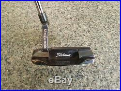 Scotty Cameron Oil Can Newport The Art of Putting Original Putter with Cover