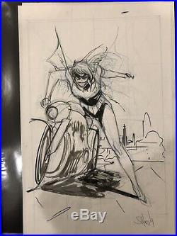Sean Gordon MURPHY Original Cover Art Prelim Batgirl 27