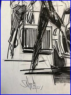 Sean Gordon MURPHY Original Cover Art Prelim Issue #7 Batman The White Knight