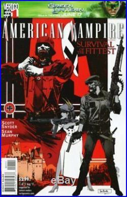 Sean Murphy Original Art American Vampire Cover Prelims
