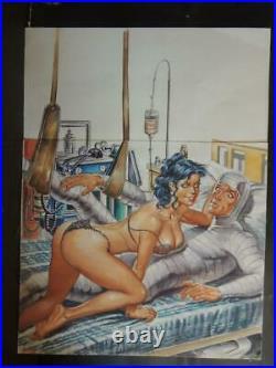 Sensacional De Maestros # 352 Sexy Pin Up Girl Original Mexican Cover Art
