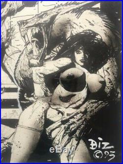Simon Bisley Original Art Signed Heavy Metal Cover