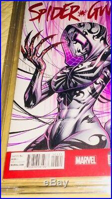 Spider-Gwen 1 Blank Original Art Artist Proof Cover Art Gwen-Venom Jose Varese
