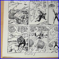Spiderman Classics #9 P 26 Original Production Art STAT Marvel Lee Kirby & Ditko