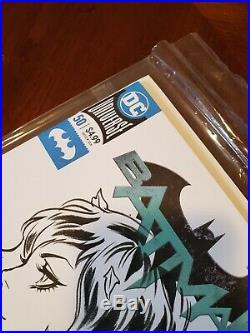 Stanley Lau Artgerm Original Art Sketch Cover Poison Ivy Batman Comic Beautiful